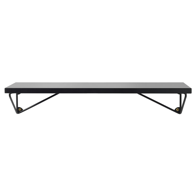 Maze Pythagoras XS shelf with brackets, black