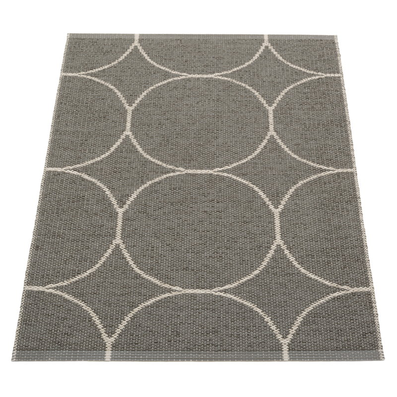 Pappelina Boo rug 70 x 100 cm, charcoal - linen