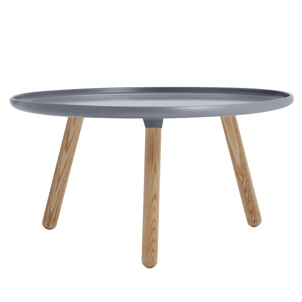 Normann Copenhagen Tablo table large, grey