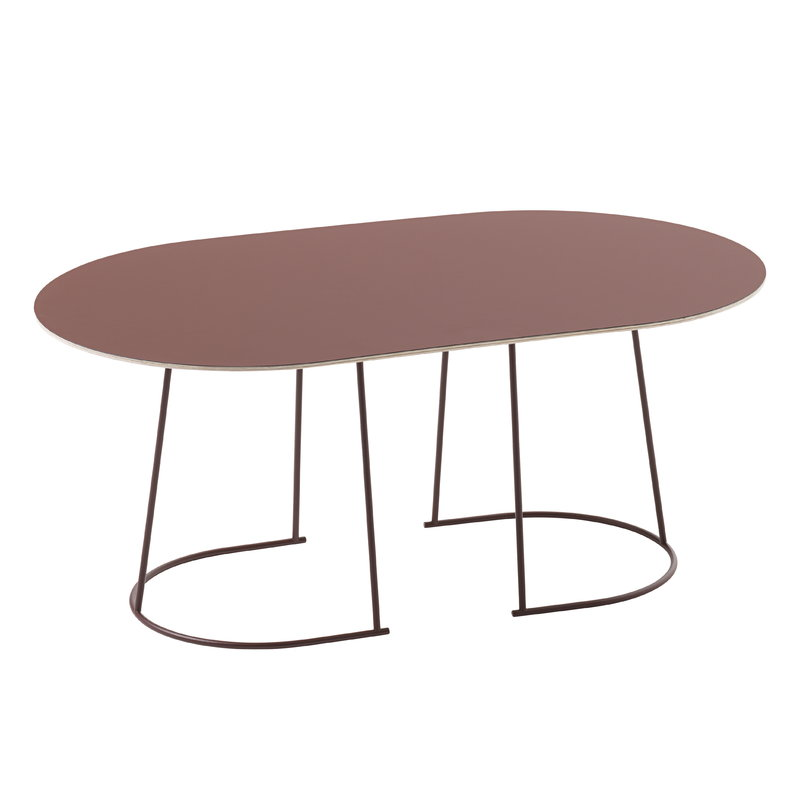 Muuto Airy coffee table, medium, plum