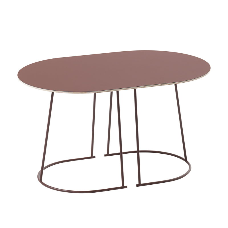 Muuto Airy coffee table, small, plum