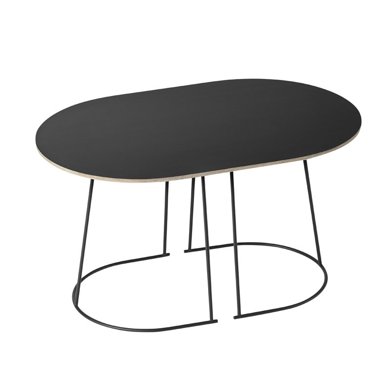 Muuto Airy coffee table, small, black