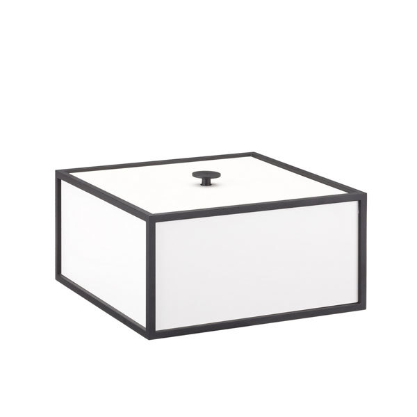 By Lassen Frame 20 box, white