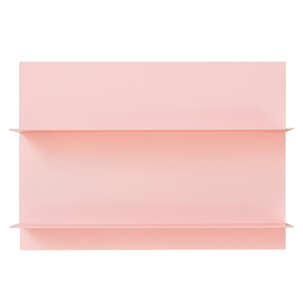 Design Letters Pink Paper A3 wall shelf
