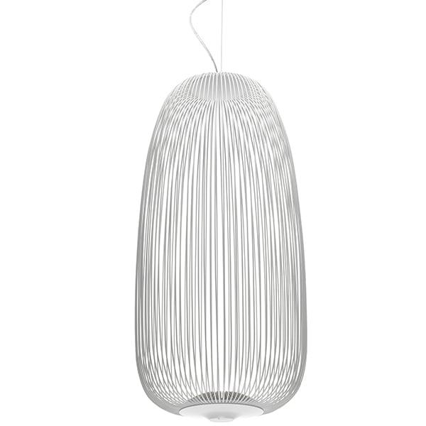 Foscarini Spokes 1 pendant, white