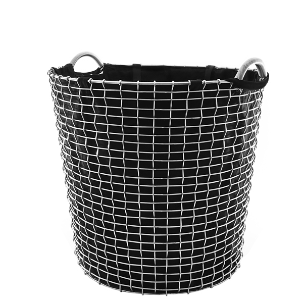 Korbo Laundry bag for wire basket Classic 65, black
