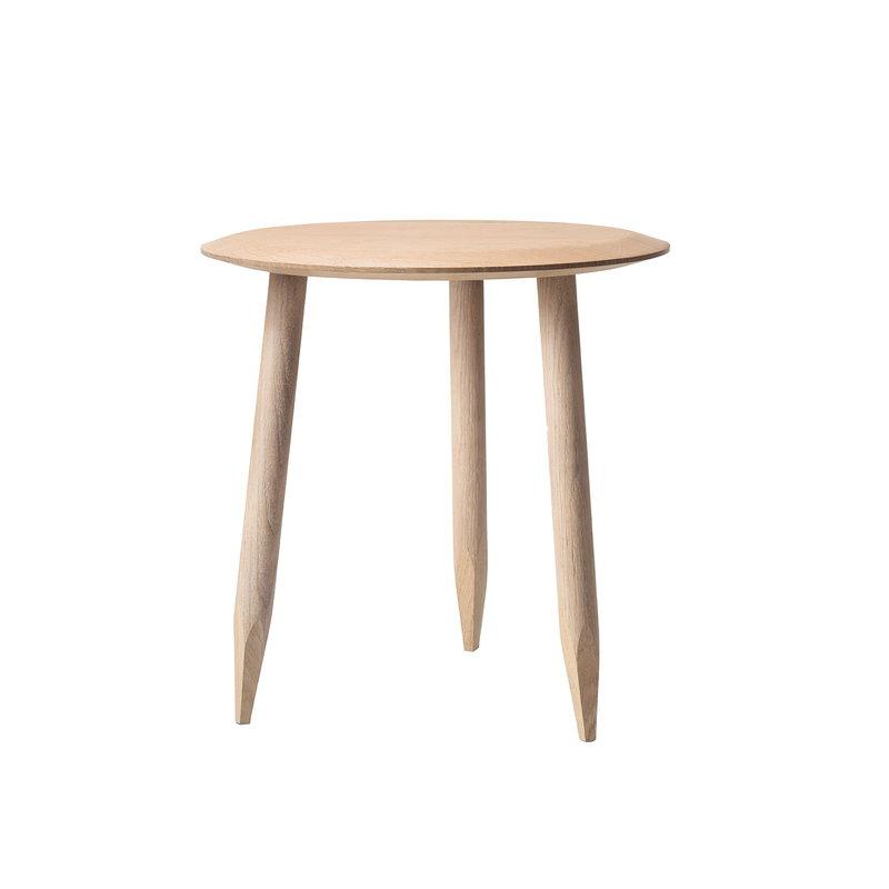 &Tradition Hoof SW1 sivupöytä, 50 cm, valkoöljytty tammi