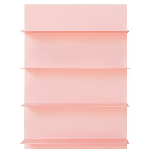Design Letters Pink Paper A2 wall shelf