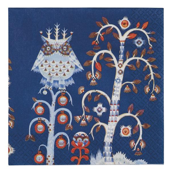 Iittala Tovagliolo di carta Taika 33 cm, blu