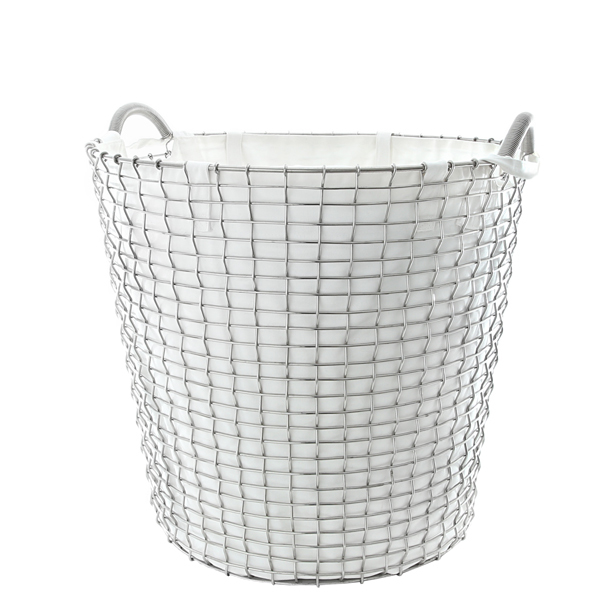 Korbo Laundry bag for wire basket Classic 65, off-white