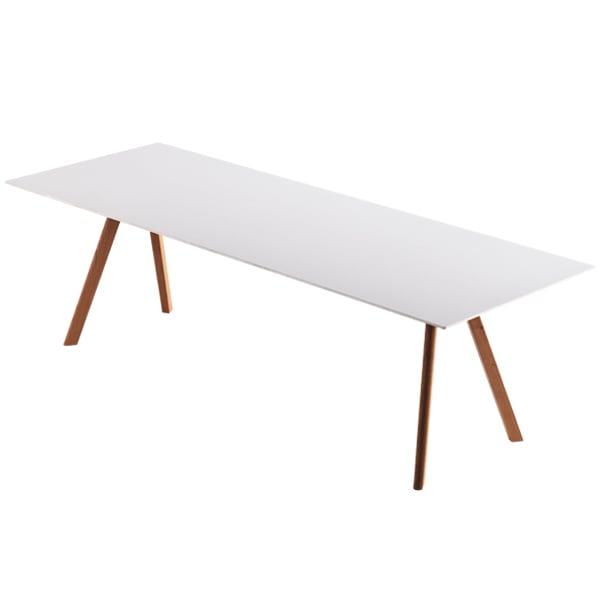 Hay CPH30 pöytä, lakattu tammi - luonnonvalkoinen lino