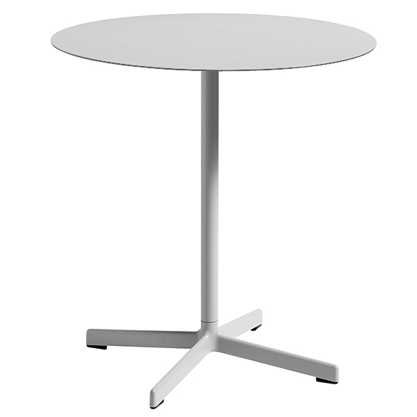 Hay Neu table round, light grey