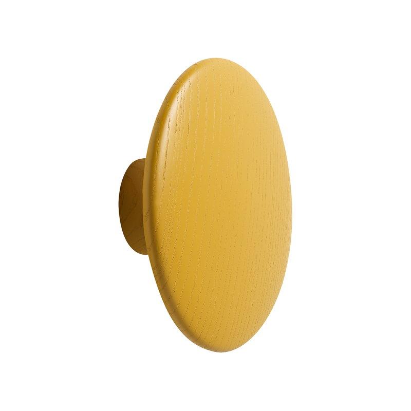 Muuto Gancio singolo Dots Wood, senape