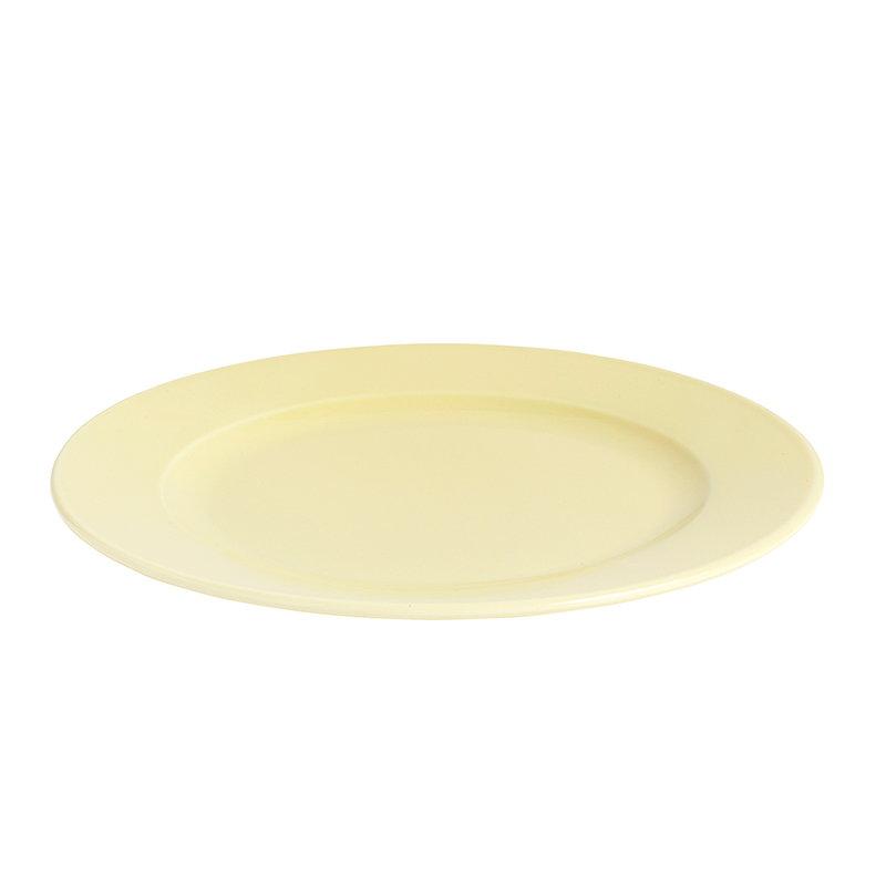 Hay Rainbow lautanen, keskikokoinen, vaaleankeltainen