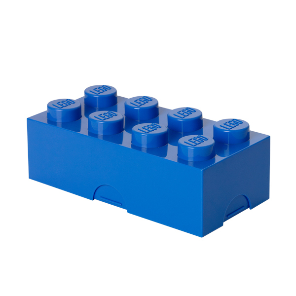 Room Copenhagen Lego lunch box, blue