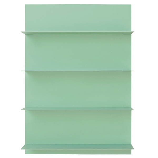 Design Letters Green Paper A2 wall shelf