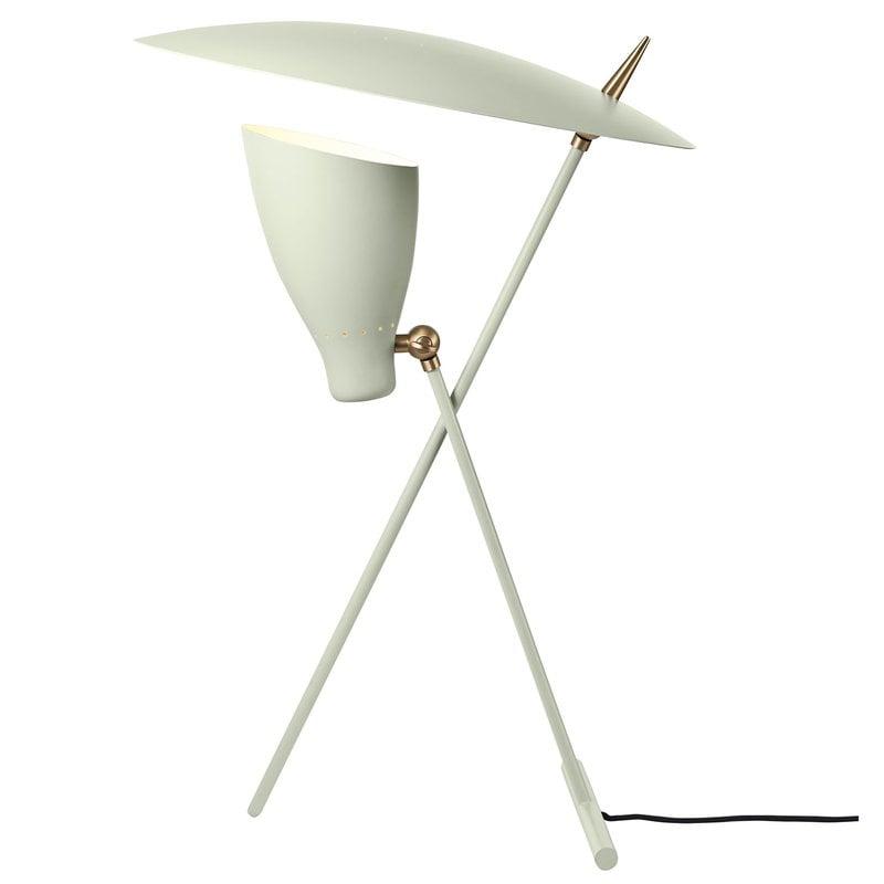 Warm Nordic Lampada da tavolo Silhouette, bianco