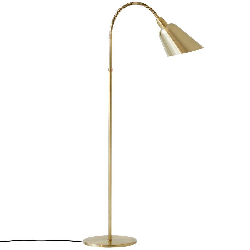&Tradition Bellevue AJ7 floor lamp, brass