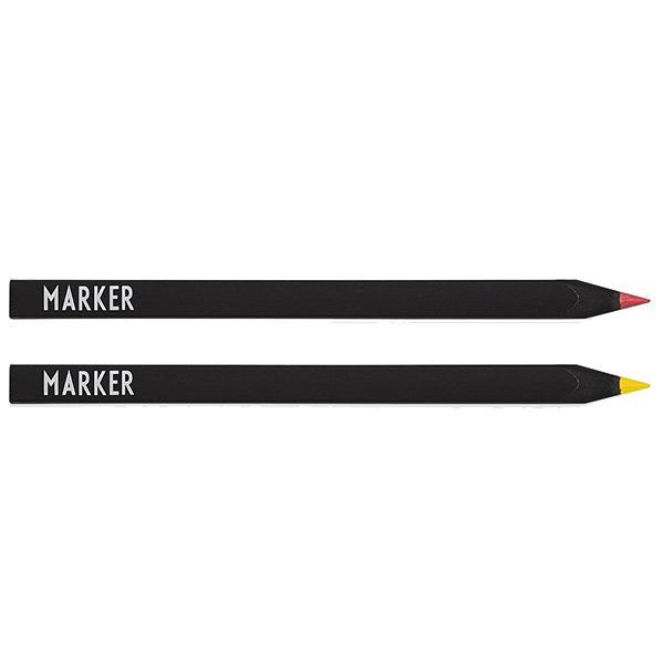 Design Letters Marker, set of 2