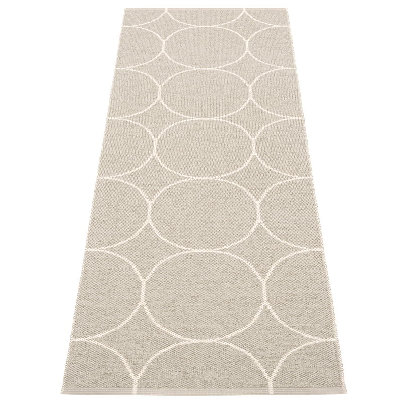 Pappelina Boo matto 70 x 200 cm, pellava - vanilja