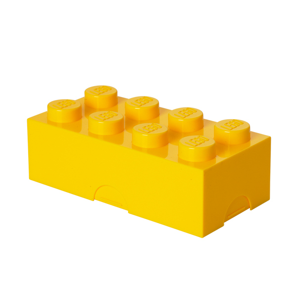 Room Copenhagen Lego lunch box, yellow