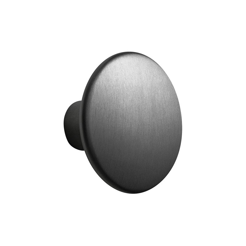 Muuto Dots Metal coat hook, black