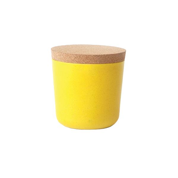 Ekobo Claro säilytyspurkki, S, lemon