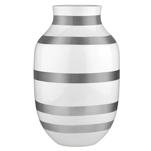 Khler Omaggio Vase Large Silver Finnish Design Shop