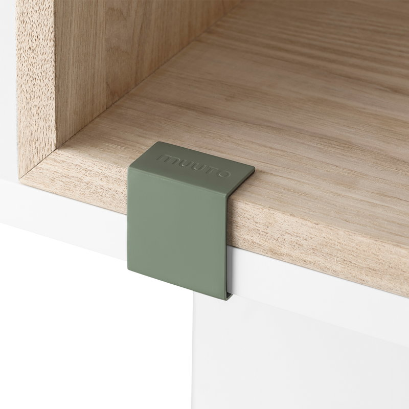 Muuto Stacked 2.0 kiinnike, dusty green