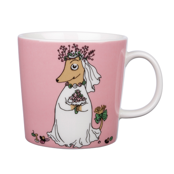 Arabia Tazza Mumin Placida, rosa