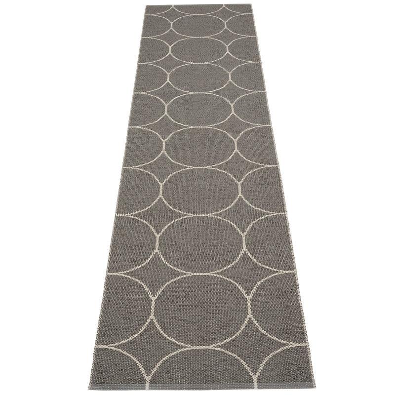 Pappelina Boo rug 70 x 300 cm, charcoal - linen