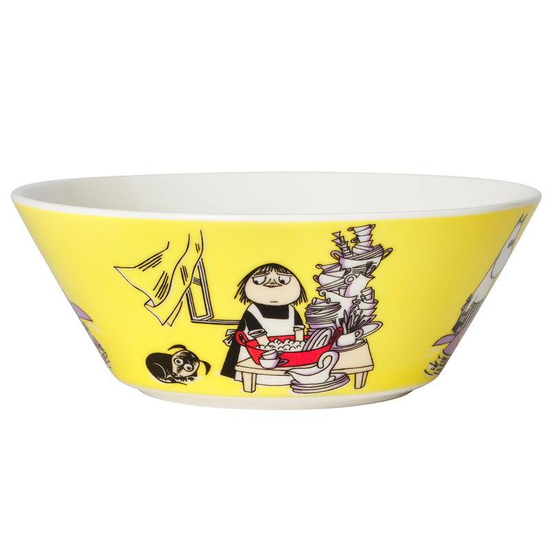 Arabia Moomin bowl 15 cm, Misabel yellow