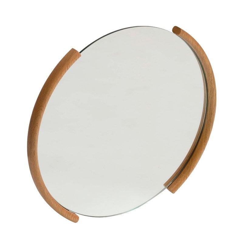 Ariake Split mirror, small, oak