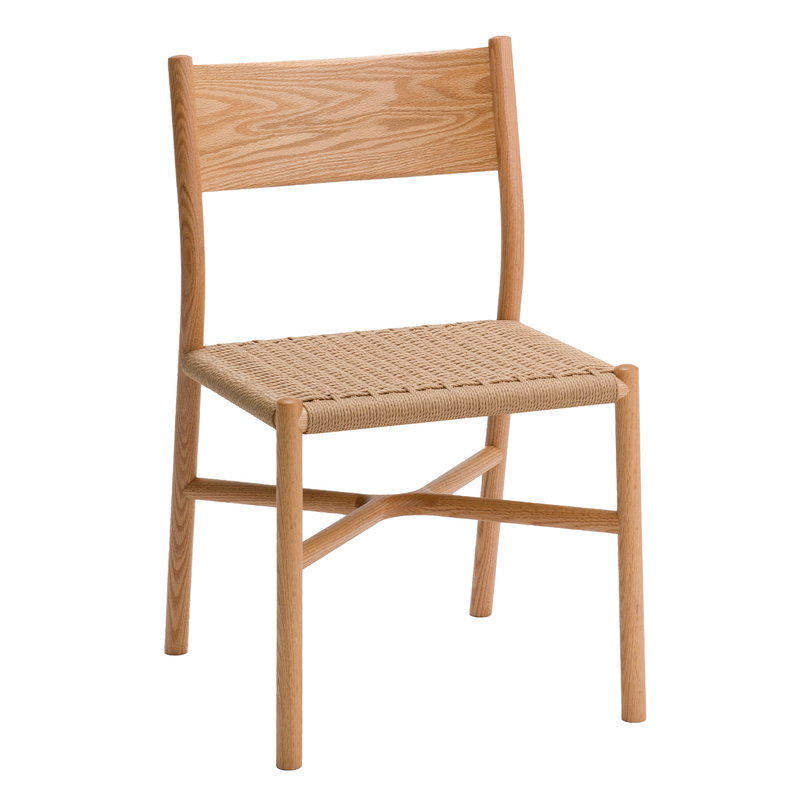 Ariake Ariake chair, oak - paper cord