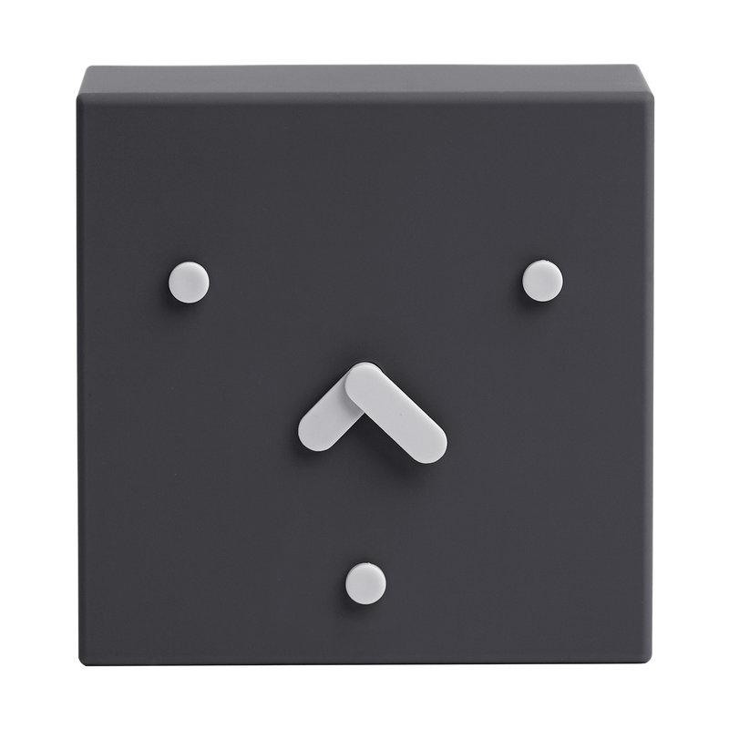 EO Orologio da tavolo Face Clock 2-6-10, nero