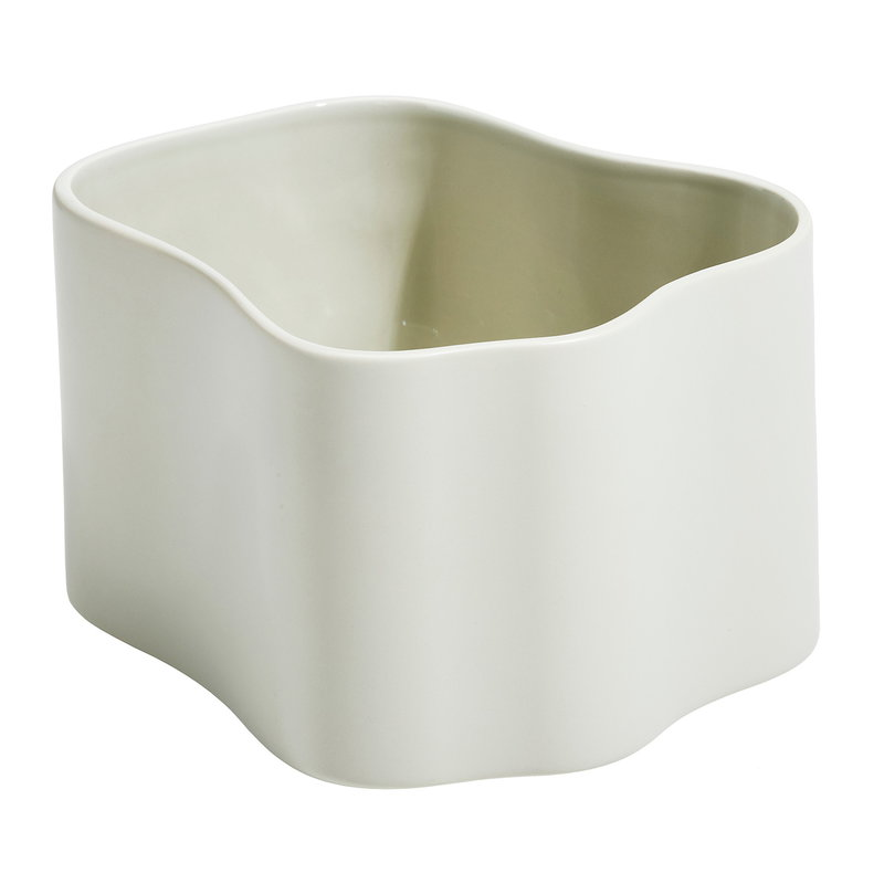 Artek Riihitie plant pot B, FDS 15 Years, medium, matt linen