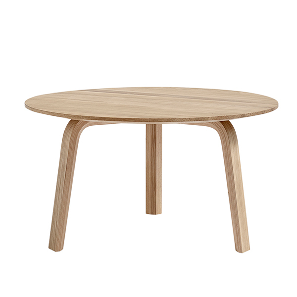 Hay Bella coffee table 60 cm, low, matt lacquered oak