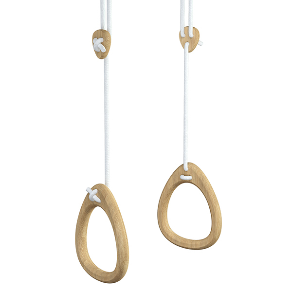 Lillagunga Lillagunga Rings, rovere - corda bianca
