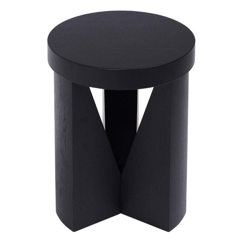 Mattiazzi Cugino stool, black