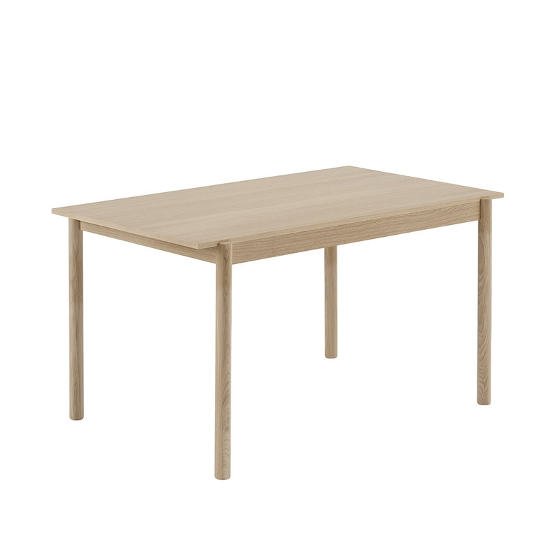 Muuto Linear Wood table 140 x 85 cm, oak