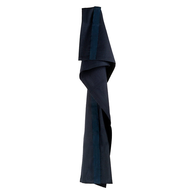 The Organic Company Hand Hair Towel, dark blue