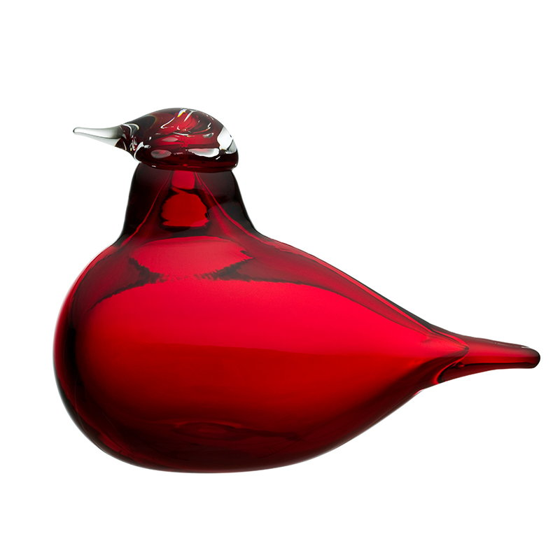 Iittala Birds by Toikka Piccola Sterna, cranberry