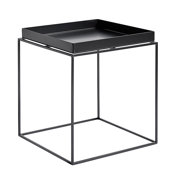 Hay Tray table medium square, black