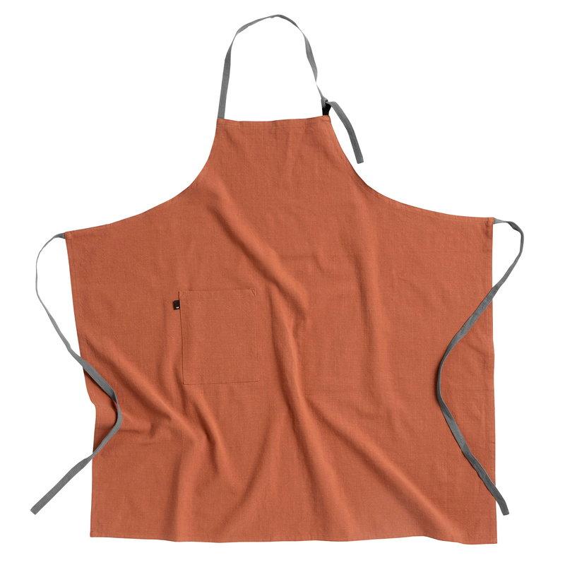Hay Wrap apron, nutmeg