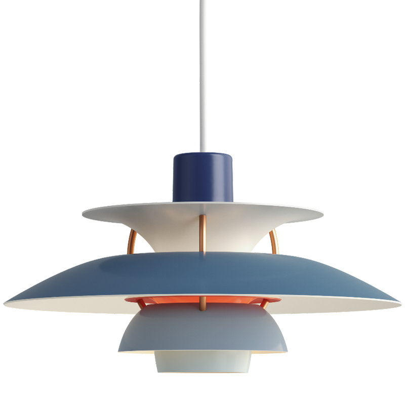louis poulsen ph 5 mini pendant blue finnish design shop. Black Bedroom Furniture Sets. Home Design Ideas