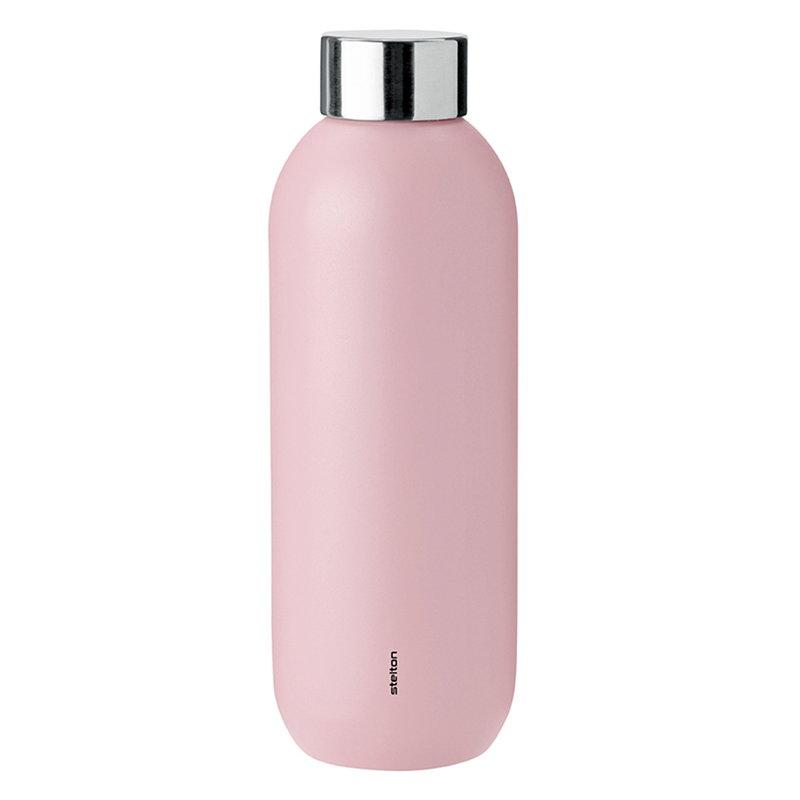Stelton Keep Cool water bottle, misty rose