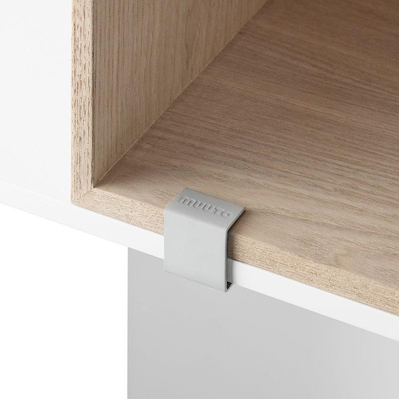 Muuto Clip di aggancio Mini Stacked 2.0, grigio chiaro