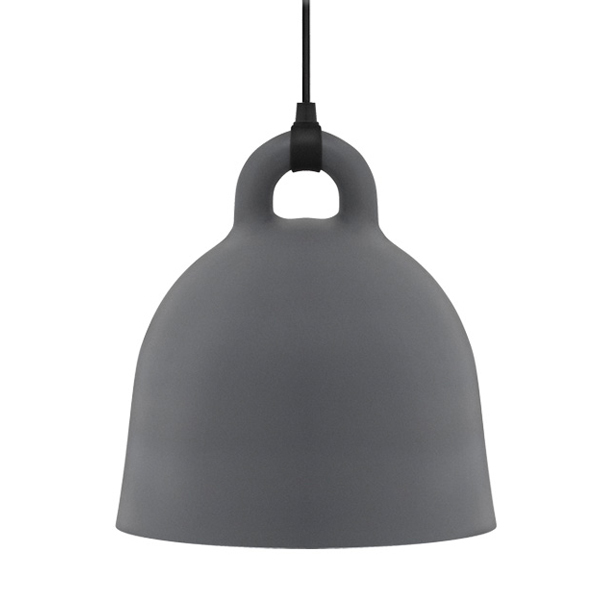 Normann Copenhagen Lampada Bell, M, grigia