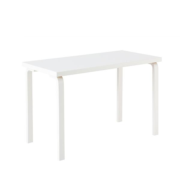 Artek Aalto pöytä 80A, kokovalkoinen