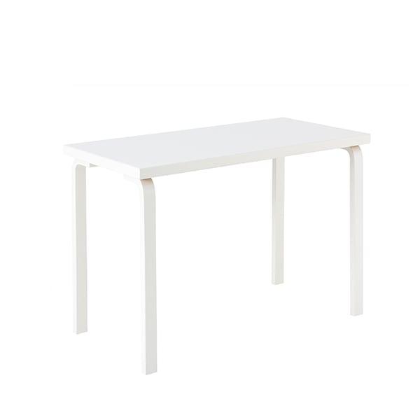 Artek Tavolo Aalto 80B, tutto bianco